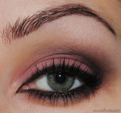 "I really like this sort of 'burnt' look. - ""Blackened Peach"" eyeshadow by Sasha on Makeup Bee"