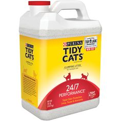 Purina Tidy Cats Clumping Cat Litter with Glade Tough Odor Solutions for Multiple Cats 20 lb. Jug - Walmart.com