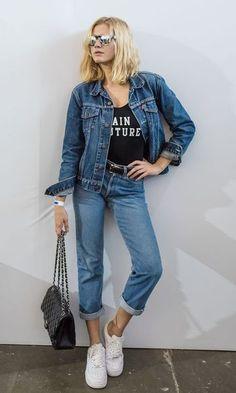 Moda it - Look: Jaqueta + Calça Jeans | Moda it