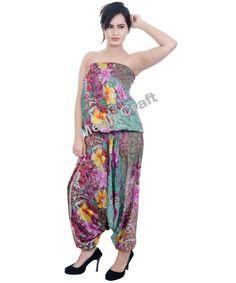 6e949f156e3 Indian Harem Style Jumpsuit Boho Romper Style Jumpsuit   Women Fashion  Jumpsuit