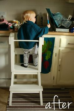 IKEA Hackers: Lucy's learning tower. PLEASE I need someone to build this for me! LOVE LOVE LOVE