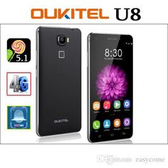 5.5inch Oukitel Universe Tap U8 Touch ID 4G LTE Android 5.1 Lollipop 64-Bit Quad Core Cell Phone 2GB+32GB Fingerprint 13.0MP from Easycome,$144.85  