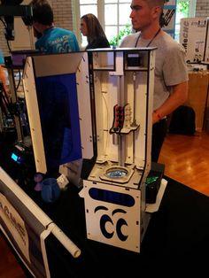 SeeMeCNC DropLit DLP SLA Printer Unveiled http://3dprint.com/10462/seemecnc-droplit-3d-printer/