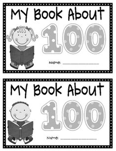 This is a creative writing activity that students will enjoy on the 100th Day of School.  On each page students will have to complete each sentence...
