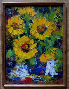 Free Shipping Oil painting Impressionism  Still life от LLiaMoscow, $199.99