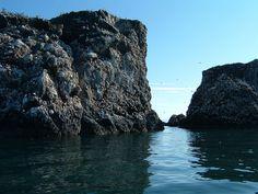 Gull Rock across the bay from Homer Alaska