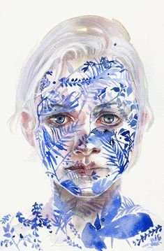 Silvia Pelissero, aka agnes-cecile, is a self-taught Rome-based artist with a focus on the human face. She's especially adept...