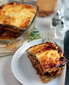Moussaka de Lentejas {Vegetariana} (Cocina para emancipados)