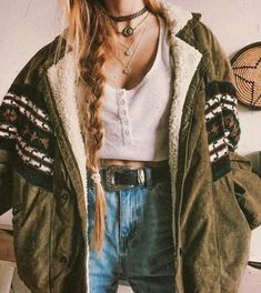 Hippie Outfits 824510644267146202 - National style Printed Color Pocket Women's Jacket – undaylily Source by clothes Source by MMittieCummingsWomenMode Mode Outfits, Grunge Outfits, Fall Outfits, Casual Outfits, Fashion Outfits, Fashion Fashion, Indie Fashion, Womens Hipster Fashion, Hipster Outfits Winter