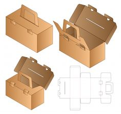Cake Packaging, Bottle Packaging, Packaging Design, Box Design Templates, Restaurant Flyer, Banner Template, Food Template, Vintage Logo Design, Carton Box