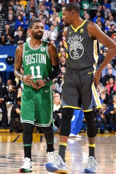 Kyrie and Kevin