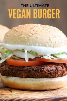 Black Bean Veggie Burger - This recipe capture that unique hamburger texture, which is greatly lacking in so very many mushy veggie burgers. And it is so easy to make.This is the Veggie Burger Recipe You've Been Waiting For!