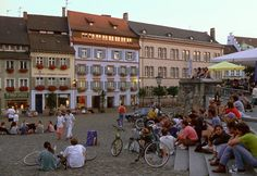 Freiburg, Germany.... I have been in this plaza too many times to count