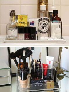diy makeup organizer Gloss Boudoir