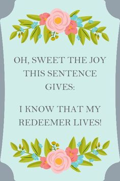 HM Gallery - I Know That My Redeemer Lives