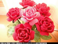 永不凋谢的玫瑰-编法图解-作品展示-中国结论坛 -