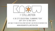 KNOW by stillmotion. our 36 city educational experience by stillmotion. we're beyond excited to announce KNOW by stillmotion, a 36 North American city educational tour this fall.