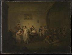 Julius Caesar Ibbetson 'An Unmarried Sailor's Return', c.1800