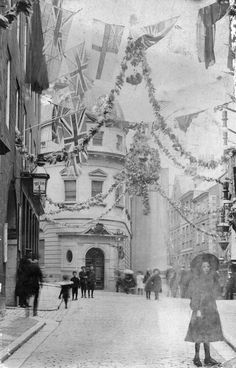 +~+~ Antique Photograph ~+~+  The Pollet/High Street, St Peter Port, Guernsey.