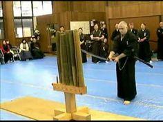 Tameshigiri. Sword Cutting.