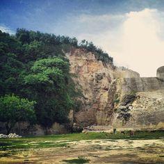 Rocky beach, nature, Bali, Wisatabaliyuk