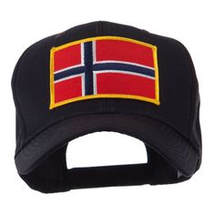 Europe Flag Embroidered Patch Cap - Norway