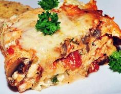 Weight Watchers Recipes, Delicious Turkey Lasagna Adapted For The Weight Watchers Diet Plan. Free Weight Watchers Recipe For Turkey Lasagna And Only 8 Weight Watchers Points Plus Per Serving. Italian Sausage Lasagna, Meat Lasagna, Cheese Lasagna, Healthy Lasagna, Lasagna Noodles, Ww Recipes, Light Recipes, Italian Recipes, Healthy Recipes