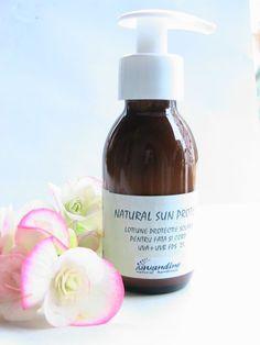 Natural Sun Protect-lotiune naturala de protectie solara pentru ten si corp,FPS 25-Lavandine de Lavandine