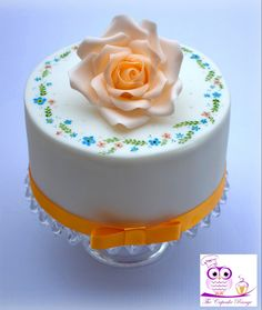 #cake Rose Cake, Cakes, Desserts, Food, Tailgate Desserts, Deserts, Cake Makers, Kuchen, Essen