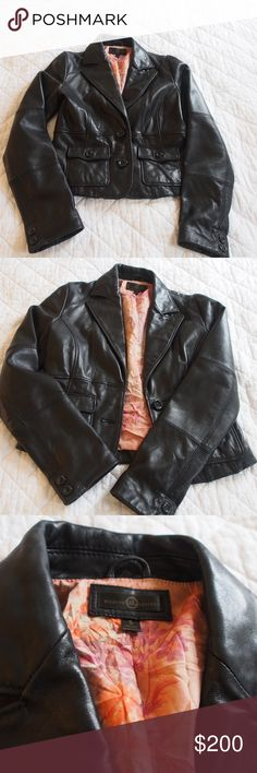 Wilsons Leather  Blazer -22.5 in Sleeve -size small -NEVER WORN: has just been sitting in my mom's closet for years Wilsons Leather Jackets & Coats Blazers