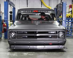 At the push of a button the Chevrolet LS1 V8 engine roared to life and Rob backed the 1972 Chevy C10 R onto the Spectre Performance dyno for the moment of truth