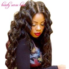 Beautiful Loose Wave Full lace wig Indian Unprocessed human hair natural hairline Silk Top Lace front wig for black women