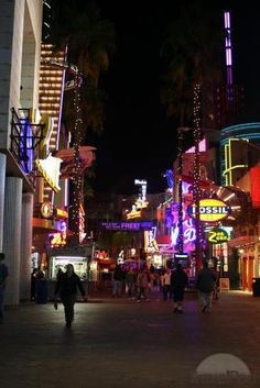 Universal Studios City Walk, Orlando Florida