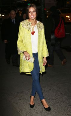 Oliva Palermo - she just has the best style!
