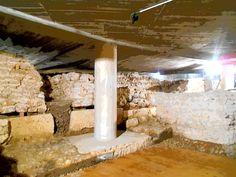 Restos del anfiteatro romano de la VI Legión. Cripta de la calle Cacalerias