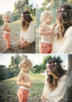 This is the most mama photo shoot I've ever seen. Must do this when summer comes.