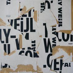Christian Gastaldi   SCP33 (60 x 60 cm) - Paper on canvas