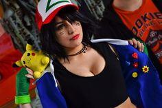 Female Ash Ketchum (By Ash Ketchum, Video Game, Pokemon, Cosplay, Photoshoot, Female, Holiday Decor, Photo Shoot, Video Games