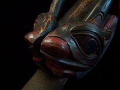 Northwest Coast Carved Rattle | eBay