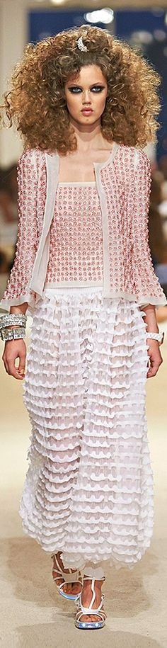 Chanel Resort ~ 2015 | The House of Beccaria~ Is big hair coming back?