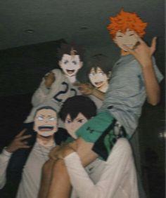 Haikyuu Funny, Haikyuu Fanart, Haikyuu Anime, Got Anime, Real Anime, Funny Anime Pics, Cute Anime Guys, Anime Boys, Japon Illustration