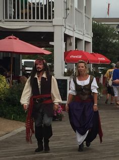 Pirate invasion @Beaufort, NC 2015