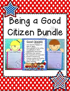 An example of how teaching about being a good citizen can be incorporated with literacy. This bundle includes a number of writing scaffolds. - I am a good citizen at home because. - WANTED poster. Description of a good citizen. 3rd Grade Social Studies, Kindergarten Social Studies, Social Studies Activities, Teaching Social Studies, Teaching Activities, Student Teaching, Teaching Ideas, Teaching Resources, Teaching Citizenship