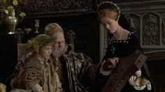 Henry VIII and His Six Wives (1972)-Depicting Henry VIII, Mary, and Edward.