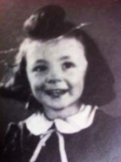 Helene Weitzenfeld-Helene was only 3 when she was sadly murdered at Auschwitz-Birenkau on Sept. 16, 1942.