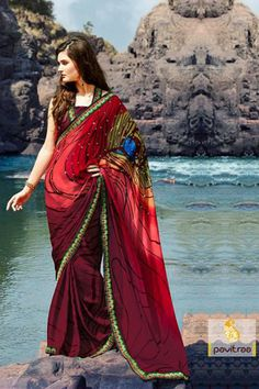 Pavitraa.In : Sarees, Salwar Kameez online shopping.  Best Price : 1557
