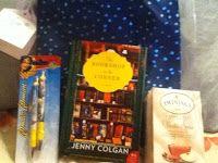 The books I got for Christmas