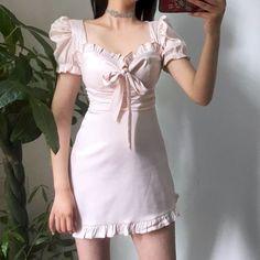 I Dress, Dress Outfits, Casual Outfits, Fashion Outfits, Pretty Outfits, Pretty Dresses, Cute Outfits, Korean Girl Fashion, Cute Fashion