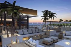 One Hotel it is the the luxurious design you'll ever see,  lovely views of the ocean, beach and over Miami, have the touch of the great design
