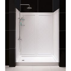 overstock complete your shower enclosure project with an bacwall